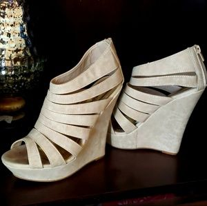 Wedge sandals Sz.7 by Bamboo